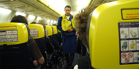 Ryanair inches closer to Russia. Photo by Jon Gos