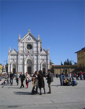 Final Stop: The Piazza Santa Croce