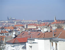 The view from Vysehrad