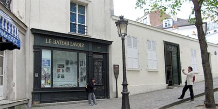 Le Bateau-Lavoir in Montmartre