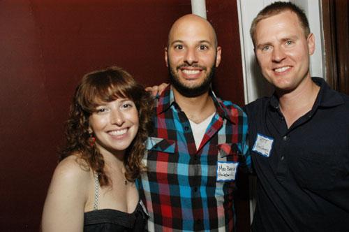 Jordana, Mike Barish and Pete Meyers