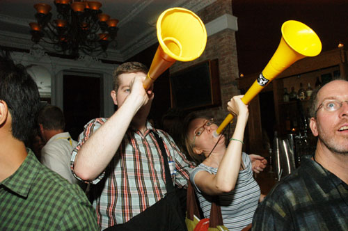 More vuvuzela, Brooklyn Nomad!
