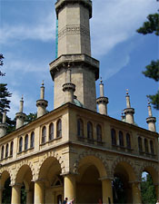 Lednice Minaret in the Czech Republic