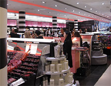A view inside Sephora in Paris