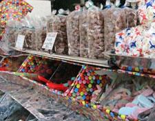 Haribo street candy in Paris