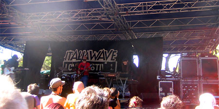 Psycho Stage at the Italia Wave Festival in Livorno