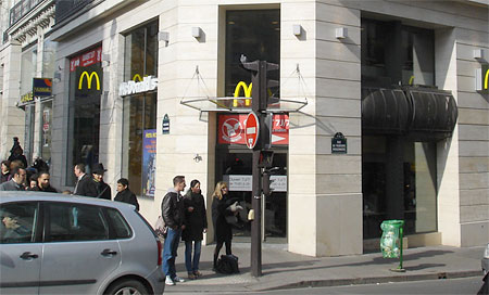 Paris McDonald's