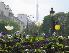 Rond-Point des Champs-Élysées in Paris, France