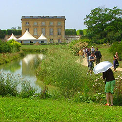 Approaching the Petit Trianon