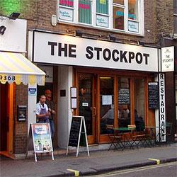 London's Stockpot Restaurant, Soho