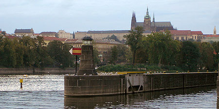 Zofin Island in Prague, Czech Republic