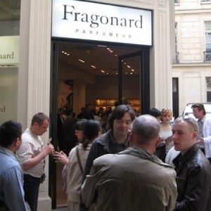 Photos by the author: Fragonard Museum