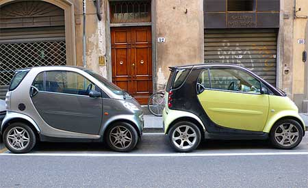 "How ""Smart"" is it to rent a car in Italy? Photo by Big Baby Miguel"