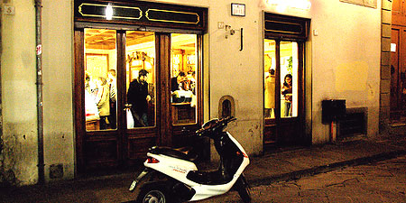 A bar in Florence, Italy