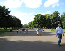 Hyde Park in London