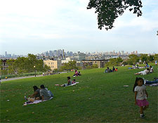 Sunset Park in Brooklyn