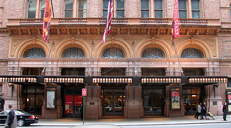 New York's Carnegie Hall