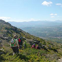 Sierra mountain range