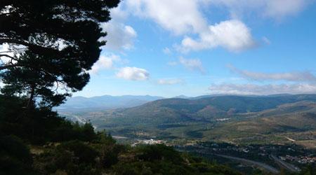 Spain's Sierra mountain range