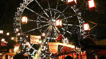 Christmas market at Alexanderplatz