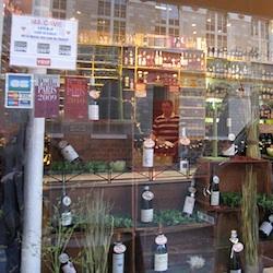 Paris wine shop