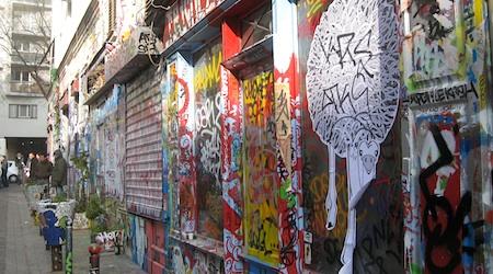 Rue Denoyez Graffiti