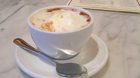 Hot Chocolate in New York