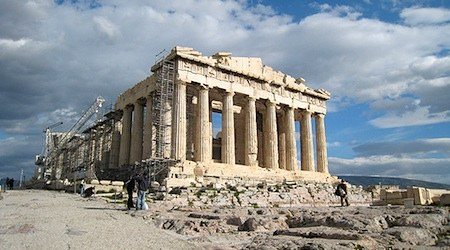 Athens Greece Parthanon