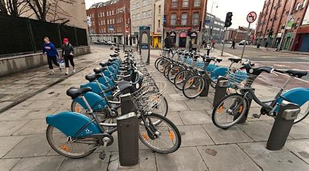 Dublin's bike share program