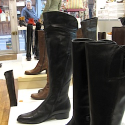 Paris boot shopping