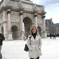 Wen at the Arc-de-Triomphe du Carrousel