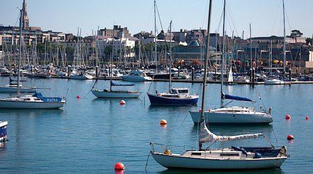 The harbor at Dun Laoghaire. Photo: Informatique