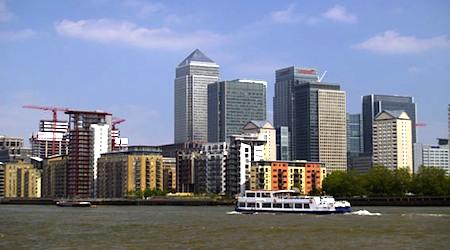 London, Canary Wharf