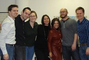 Tom, TJ, Laura, Viv, Annie, Alex, Pete