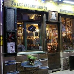 Shakespeare & Company bookshop