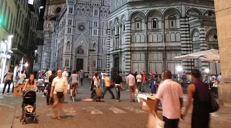 Florence pedestrian zone