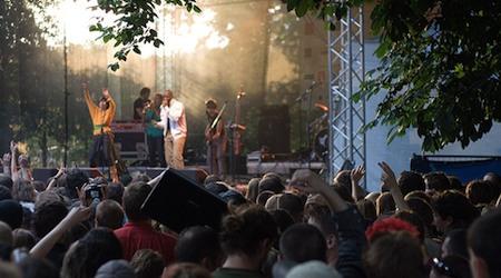 United Islands music festival Prague