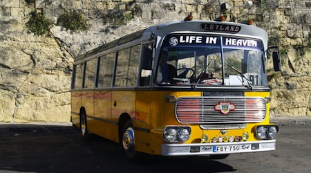 One of the vintage buses that has sadly gone out of service. Photo © hidden europe