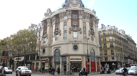 The Monoprix at 95 Boulevard Sébastopol (the Félix Potine building). Photos: Theadora Brack
