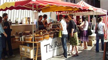 Dublin Temple Bar food market