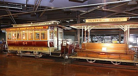 All aboard at San Francisco's Cable Car Museum. Photo: Pargon