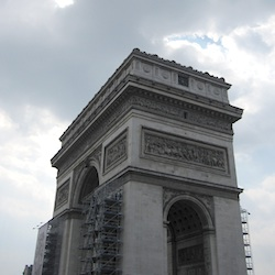Ghost of Arc de Triomphe