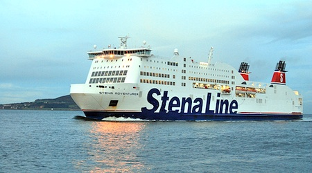 "The Stena Line's £ 39 ""Dutch Flyer"" ticket is quite a value. Photo: Victor Bayon"