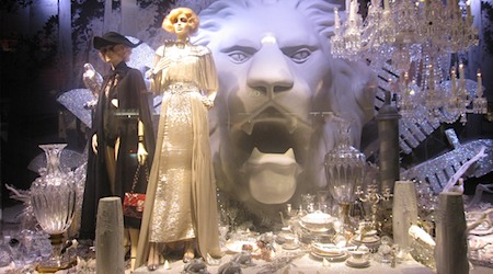 Christmas windows Paris