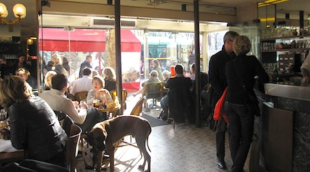 Paris Cafe de la Marie