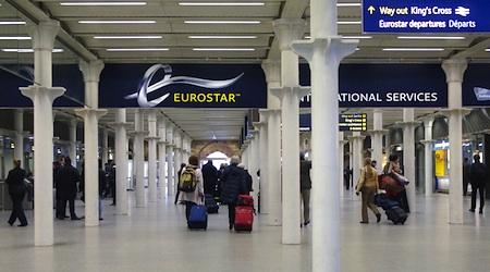 London Eurostar terminal