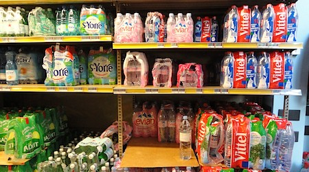 Paris: Only buy your water at the supermarket! | EuroCheapo