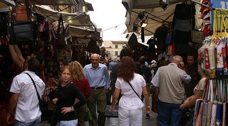 Florence San Lorenzo market