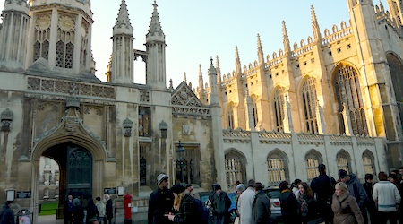 If you're going to pay to visit one college, choose King's College (above). All photos by Nina Derham