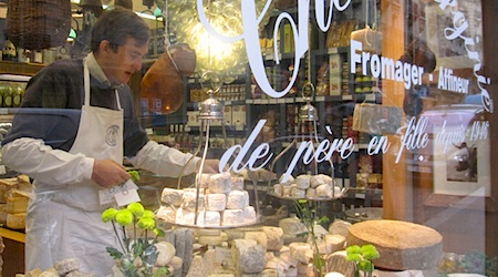 Paris cheeses